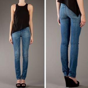 Acne hex luna straight leg jeans